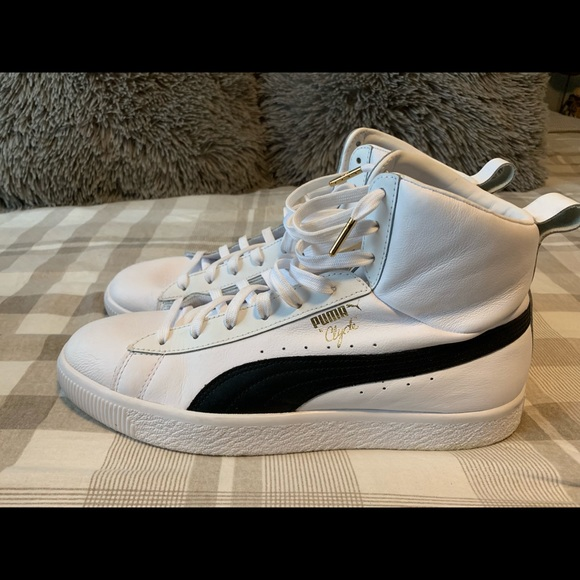 finest selection 1a4dd 93220 Men's puma Clyde high tops